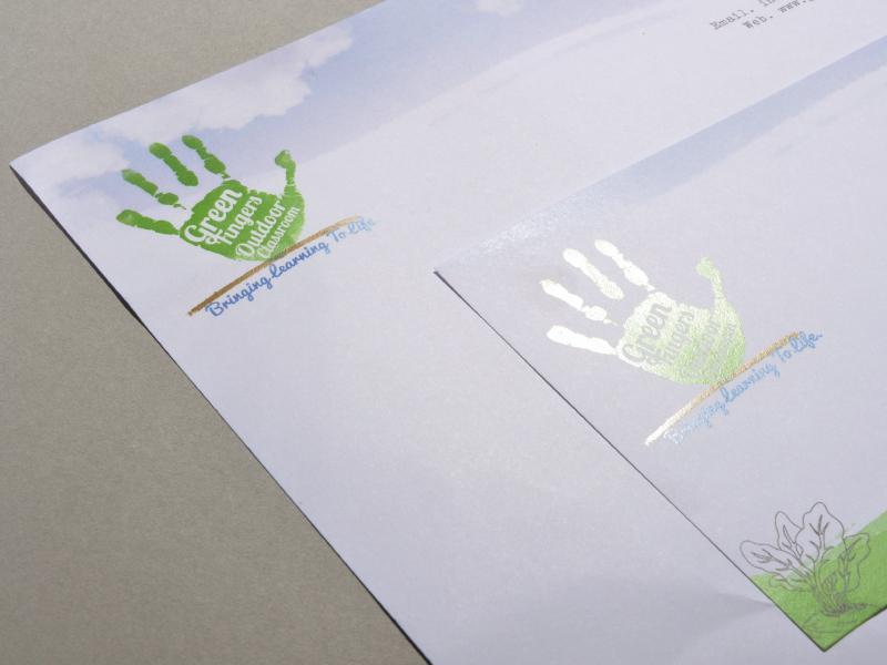 green fingers branding